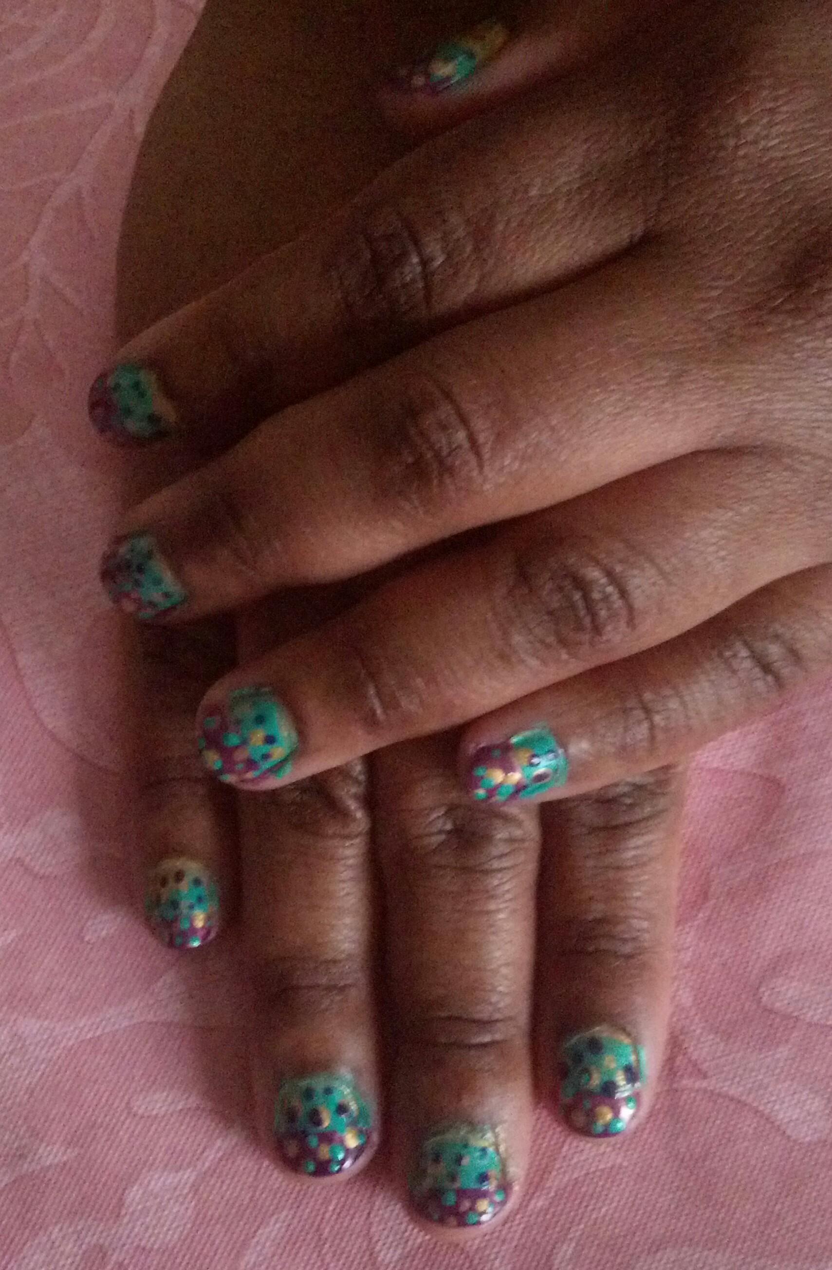 Mardi Gras Nail Design: Featuring China Glaze | Beauty412