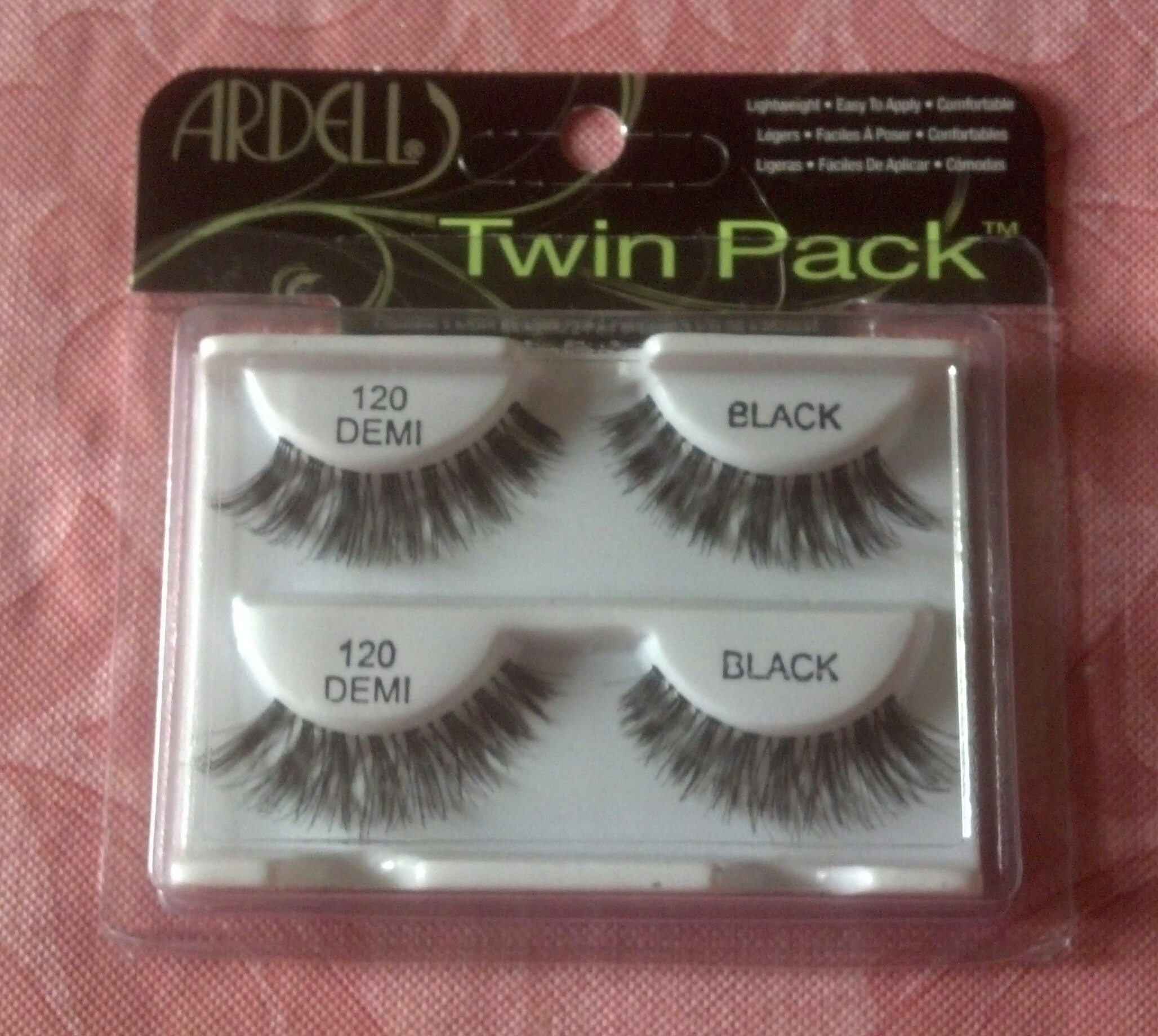 I also purchased a twin pack of the Ardell  120 false eyelashes in an  effort to step out of my comfort zone. 923e4fd5a54c