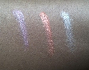 Bombshell Eyeshadow swatch