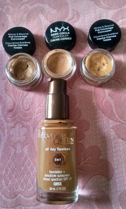 Bombshell Face Makeup