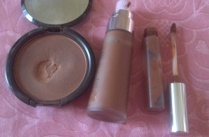Face Makeup for Pink Look4