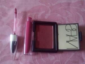 Lip and Cheek Pink Look3