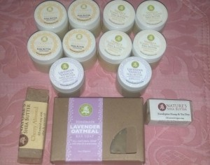 Nature's Shea Butter July Order