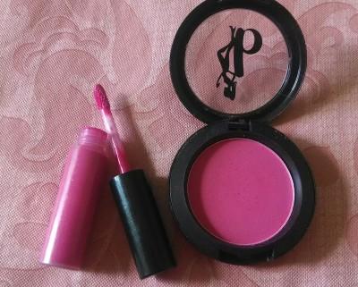 Pink Makeup for Look 5