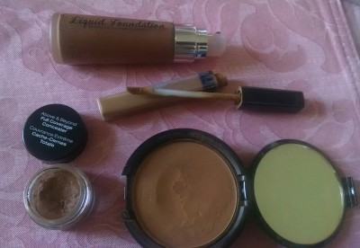 Face makeup for Pink Look9