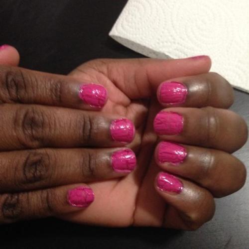 Pink Nail Design 2 Hands