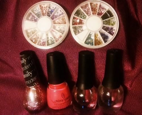 Pink Nail Design 5 Polish