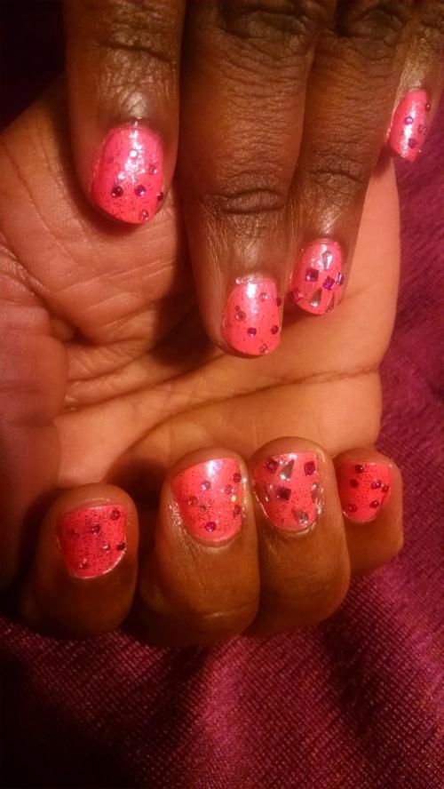 Pink Nail Design 5