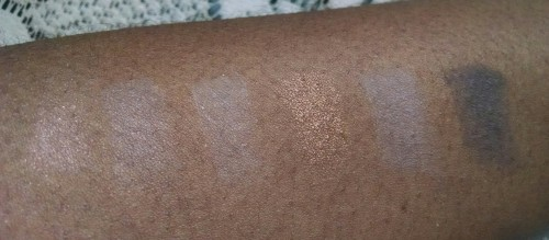 Maybelline Nudes Swatch
