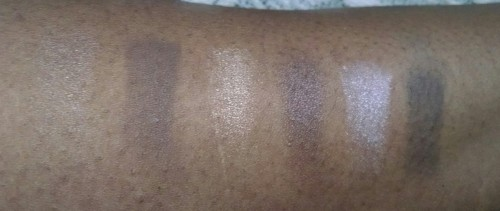 Maybelline Nudes Swatch2