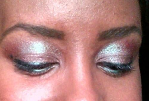 Blue Brown Eyes Close Up