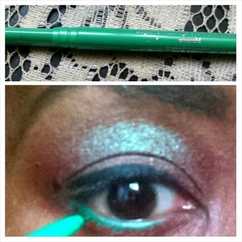 Blue Brown Green Liner