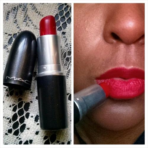 Blue Brown Lips