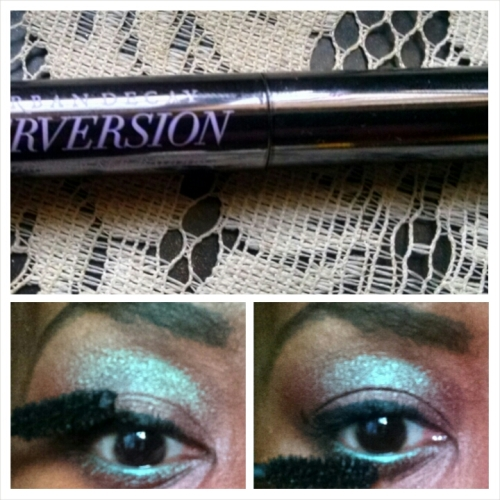 Blue Brown Mascara