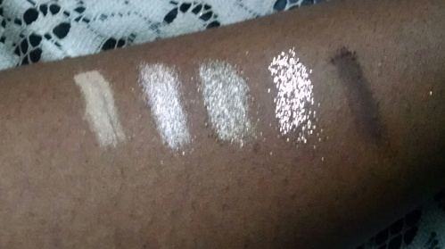MAC purchase Swatches