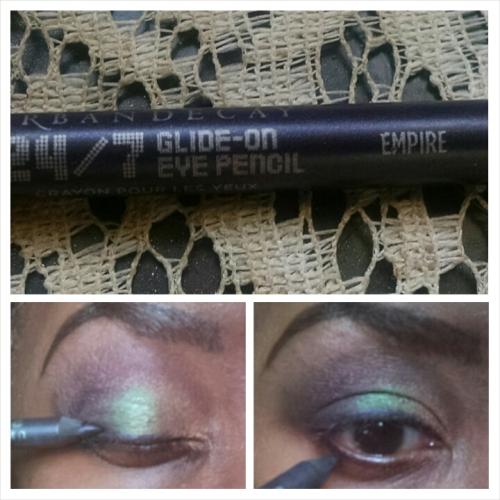 Mardi Gras Eyeliner