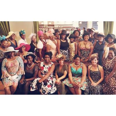 High Tea Group Picture