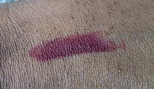 MAC Lip Swatch